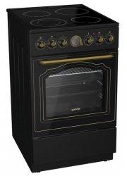 Gorenje Cooker EC62CLB Hob type Glassceramic, Oven type Electric, Black, Width 60 cm, Electronic ignition, Grilling, Depth 60 cm