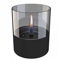 Tenderflame Table burner Lilly 1W Glass Diameter 10 cm, 12 cm, 200 ml, 7 hours, Black