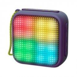 Energy Sistem Beat Box 2+ Lightcube Bluetooth Speaker, Amethyst