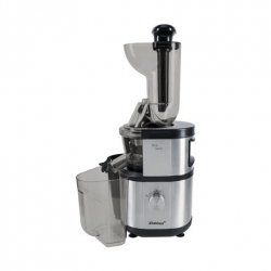 Steba Slow juicer E 400 Type Automatic juicer, Stainless steel, 400 W, Extra large fruit input
