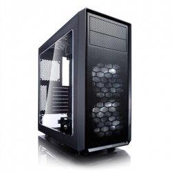 Fractal Design Focus G Black Window Black, ATX, Power supply included No