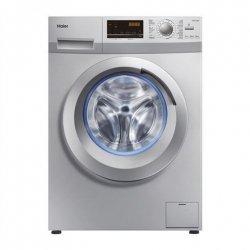Haier Washing mashine HW70-14636S Front loading, Washing capacity 7 kg, 1400 RPM, A+++, Depth 51 cm, Width 60 cm, Silver, Displa