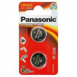 Panasonic CR2032, Lithium, 2 pc(s)
