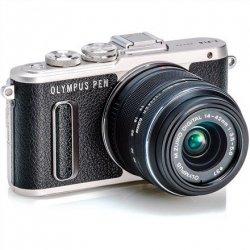 Olympus PEN E-PL8 + 14-42mm EZ Pancake Mirrorless Camera Kit, 16.1 MP, ISO 25600, Display diagonal 7.62 cm, Video recording, Wi-