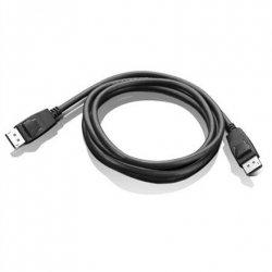 Lenovo DisplayPort to DisplayPort Cable 1.8 m, Black