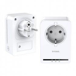 D-Link PowerLine AV Passthrough Mini Adapter Starter Kit DHP-P309AV 1 port, 10//100 Mbit/s, Data transfer rate (max) 500 Mbit/s