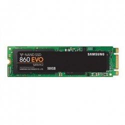 Samsung 860 EVO MZ-N6E500BW 500 GB, SSD form factor 2.5, SSD interface M.2, Write speed 520 MB/s, Read speed 550 MB/s