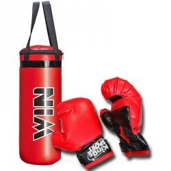 Zestaw bokserski junior Enero worek 22,5x15x38,5cm i rękawice
