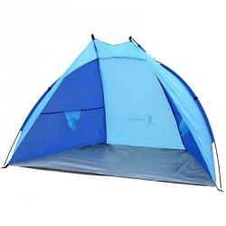 Namiot Osłona Plażowa Sun 200X120X120Cm Niebiesko-Granatowy Royokamp
