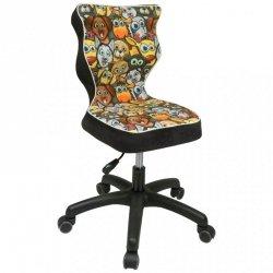 Krzesło PETIT czarny Storia 28 rozmiar 3 wzrost 119-142 #R1
