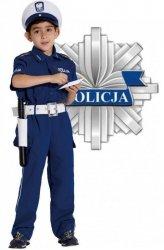STRÓJ KARNAWAŁOWY POLICJANT DROGÓWKA 116