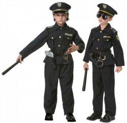 STRÓJ KARNAWAŁOWY AMERYKAŃSKI POLICJANT POLICE 128