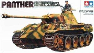 Tamiya German Panther Med Tank