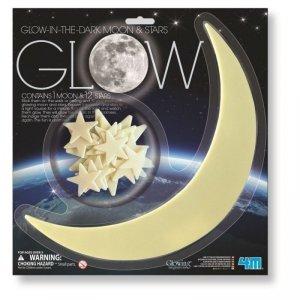 Glowing Gwiazdy i Księżyc