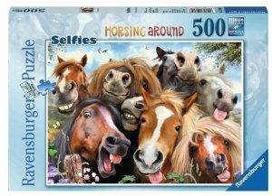 Ravensburger 500 ELEMENTÓW Wesołe konie