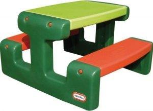 Little Tikes Maly stół piknikowy zielony