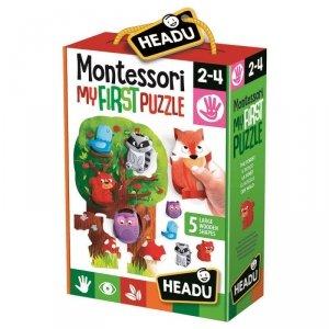 Russell Układanka HEADU Montessori Moje Pierwsze Puzzle Las