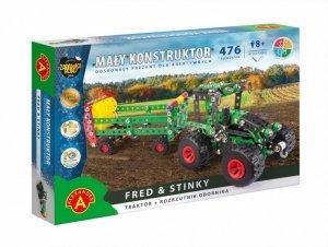 Zestaw konstrukcyjny Mały Konstruktor Maszyn Rolnych - Fred & Stinky