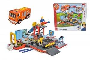 Simba Remiza strażacka/Pojazd Jupiter 2w1 Strażak Sam