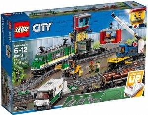 LEGO Klocki City Pociąg towarowy