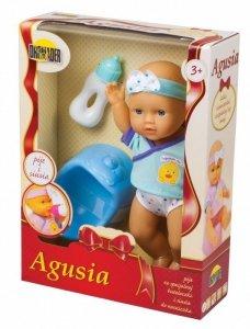 Lalka Agusia pije i siusia