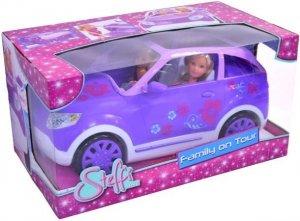 Lalki Steffi i Evi w SUVie