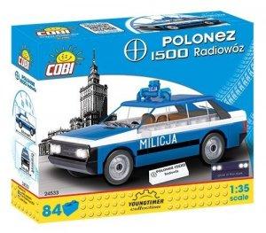 Cobi Klocki Klocki Youngtimer Collection FSO Polonez 1500 Radiowoz