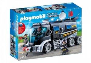 Playmobil Zestaw figurek Pojazd jednostki specjalnej ze światłem i dźwiękiem