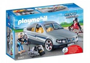 Playmobil Zestaw figurek Nieoznakowany pojazd jednostki specjalnej