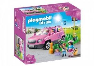 Playmobil Zestaw figurek Samochód rodzinny z zatoczką parkingową
