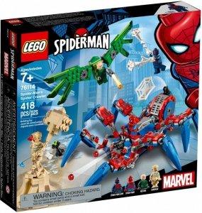 LEGO Klocki Super Heroes Mechaniczny pająk Spider-Mana