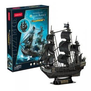 Cubicfun Puzzle 3D Okręt piracki - Zemsta królowej Anny