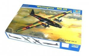 Trumpeter Model plastikowy Samolot Wellington Mk. 3