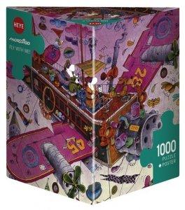 Heye Puzzle 1000 elementów - Leć ze mną