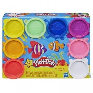 Hasbro Masa plastyczna PlayDoh 8-pak kolorów Tęcza