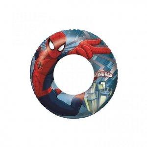 BESTWAY Kółko dmuchane do pływania Spider-Man