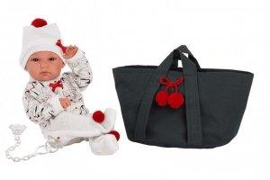 Lalka bobas Bimba z torbą 35 cm