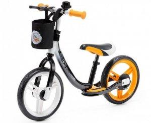 Kinderkraft Rowerek biegowy Space pomarańczowy