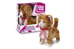Artyk Chodzący kotek Edu&Fun rudy