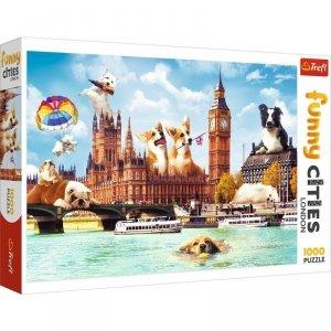 Trefl Puzzle 1000 elementów Psy w Londynie