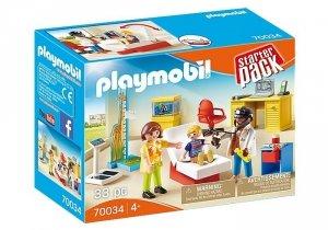 Playmobil Zestaw figurek Starter Pack Lekarz dziecięcy