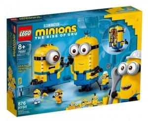 LEGO Klocki Minions Minionki z klocków i ich gniazdo