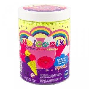 TUBAN Masa plastyczna Tubicoolki 1L 3 kolory - Lód