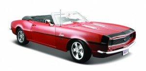 Maisto Model metalowy 1968 Chevrollet Camaro ss369 brązowy 1:24