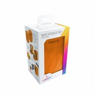 Ekskluzywne pudełko na 100+ kart Pomarańczowe