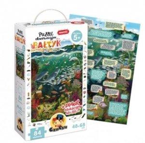Puzzle 84 elementy obserwacyjne bałtyk