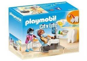 Playmobil Zestaw figurek Dentysta 70198
