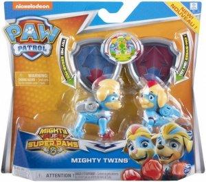 Spin Master Figurki Mighty Pups Świecące bliźniaki Psi Patrol