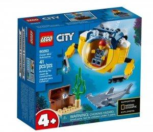 LEGO Klocki City 60263 Oceaniczna mini łódź podwodna