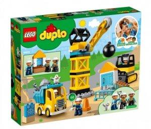 LEGO Klocki DUPLO 10932 Rozbiórka kulą wyburzeniową